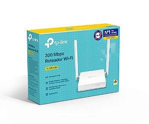Roteador e Repetidor de Sinal TP-Link TL-WR829N 300 Mbps ( 4 em 1 )