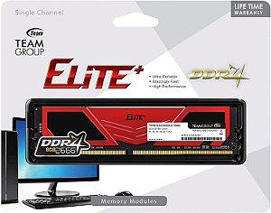 Memoria Gamer Elite 8GB DDR4 2666 Team Group Red
