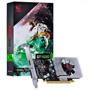 Placa de video Nvidia Geforce GT1030 2GB Pcyes GDDR5 64Bits