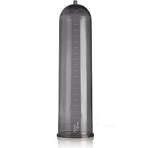 Cilindro para Bomba de Sucção e Desenvolvdor Peniano em Acrílico Fumê