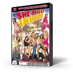 DVD Buttman, Bonekas Invadem a Itália, She-Males Invade Italy!