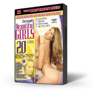 DVD Buttman, As Deusas de Clark 20, Beautiful Girls 20 (DVD DUPLO)