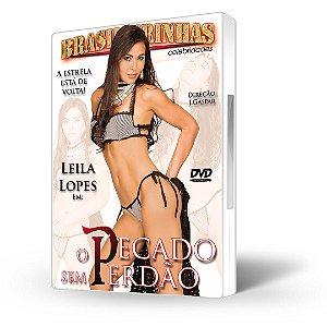 DVD Brasileirinhas Celebridades, O Pecado Sem Perdão com Leila Lopes