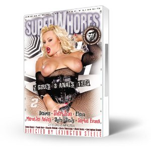 DVD Mercenary Pictures, Super Whores Vol 2, Importado