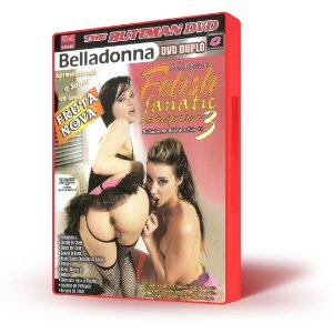 DVD Buttman, Belladonna Só Para Elas 11, Fetish Fanatic Chapter 3 (DVD DUPLO)