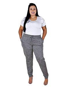 Calça Plus Size Jogger com Elastano 11059