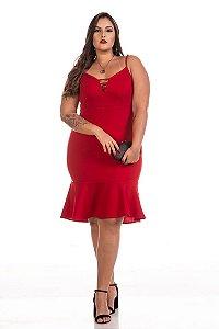 Vestido Plus Size Ravena de Alça - 6332