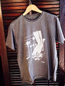 Camiseta LA cinza