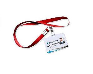 REP03 - 10 Crachás personalizados com cordão