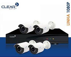 SEG04 - Kit básico 4 câmeras 1080P
