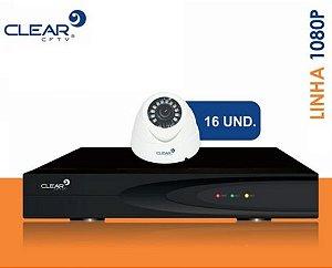 SEG22 - Kit básico 16 câmeras 1080P
