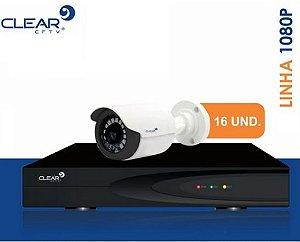 SEG24 - Kit básico 16 câmeras 1080P