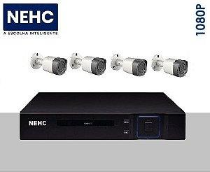 SEG03 - Kit básico 4 câmeras 1080P