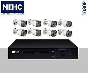 SEG13 - Kit básico 8 câmeras 1080P
