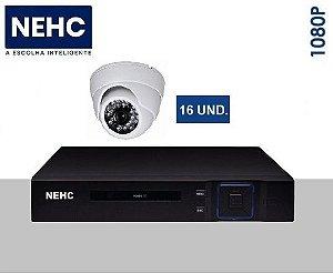 SEG21 - Kit básico 16 câmeras 1080P