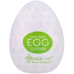 Masturbador Egg Clicker Easy One Cap - Magical Kiss