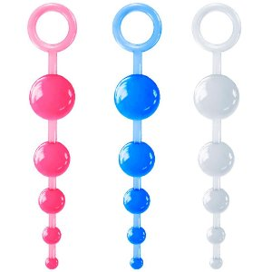 Plug Anal 5 esferas Anatômico - Sexy Fantasy
