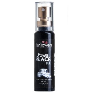 Power Black Ice Aromatizante Bucal 18ml Hot Flowers