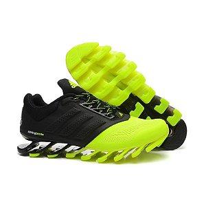 Tênis Adidas Springblade Drive 2 Preto e Verde
