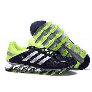 Tênis Adidas Springblade Razor Cinza e Verde