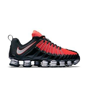 Tênis Nike Total Shox 12 Molas Preto e Laranja