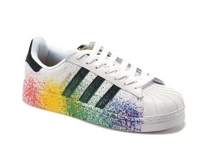 Tênis Adidas Superstar Superstar Pride Pack Branco