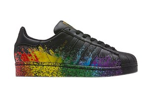 Tênis Adidas Superstar Superstar Pride Pack Preto