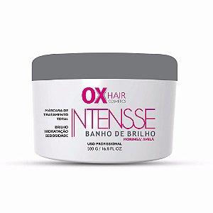 BANHO DE BRILHO INTENSSE 500GR OX HAIR