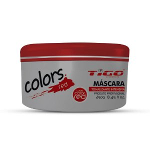 COLORS MASK RED 250g TIGO COSMÉTICOS
