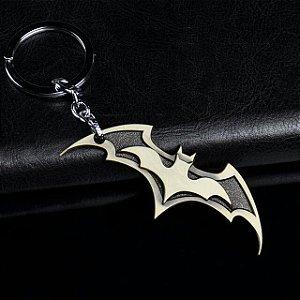 Chaveiro Metal Símbolo Batman - Dourado