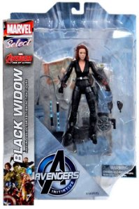 Marvel Select Viúva Negra (Black Widow) - Avengers Age Of Ultron