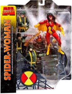 Marvel Select Spider-Woman ( Mulher Aranha )