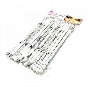 Lápis de Olho Branco com Apontador Bella Femme Atacado Box 12 Unidades