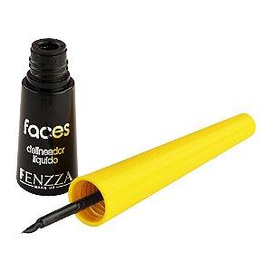 Delineador Líquido Faces Fenzza FZ13005
