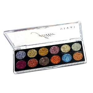 Paleta de Sombra Glitter Vivai Cor 01 2172