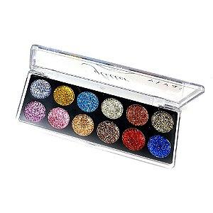 Paleta de Sombra Glitter Vivai Cor 04 2172