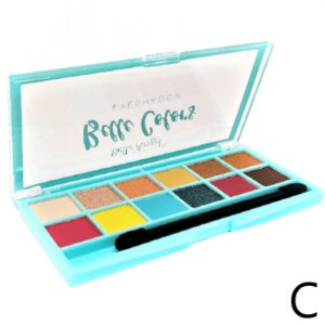Paleta de Sombra 12 Cores Colors Belle Angel B086 Cor C