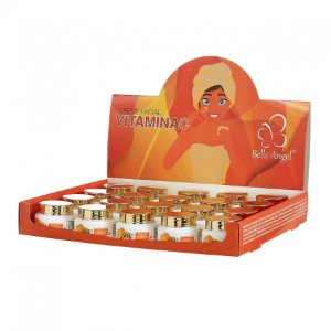 Creme Facial Vitamina C Belle Angel L014 Atacado Box 19 Unidades