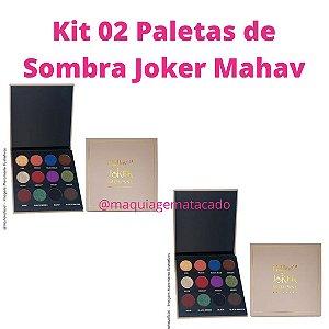 Kit 02 Paletas de Sombra Joker Mahav