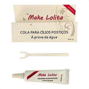 Cola Para Cílios Branca Á Prova d'água Make Lolita