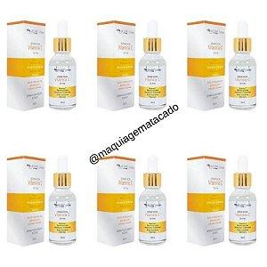 Kit 06 Unidades Sérum Facial Vitamina C Oil Free Max Love