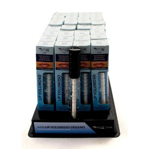 Gloss Lip Volumoso Max Love com Ácido Hialurônico Cor 01 Atacado Box 32 Unidades