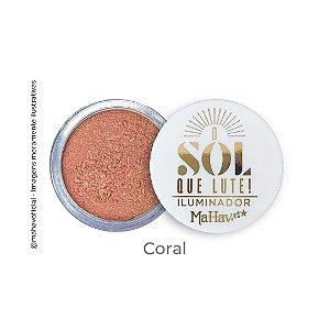 Iluminador Solto O Sol Que Lute Mahav Coral