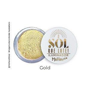 Iluminador Solto O Sol Que Lute Mahav Gold