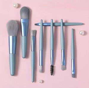Kit 8 Pincéis para Maquiagem K8P