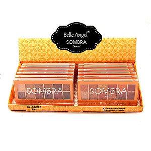 Paleta de Sombras Sweet Belle Angel B088 Atacado Box 12 Unidades