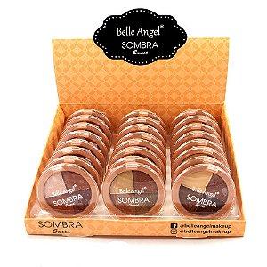 Quarteto de Sombras Sweet Belle Angel B091 Atacado Box 24 Unidades