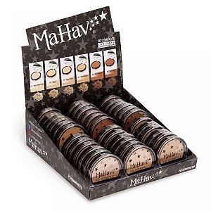 36 Unidades - Pó Facial Compacto Mahav