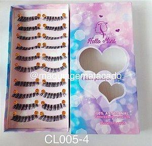 Cílios Postiços Hello Mini 10 pares - CL005-4