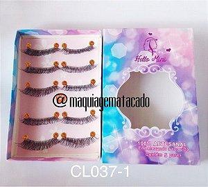Cílios Postiços Hello Mini 05 pares - CL037-1